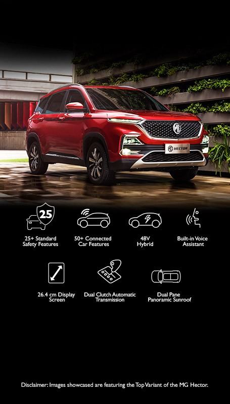 Explore MG Hector | i-SMART Technology | Price